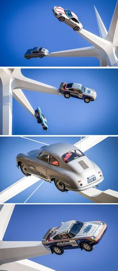 Artist Gerry Judah has designed the 2018 Goodwood Festival Of Speed sculpture that stands high and has six arms that hold an iconic Porsche road or race car. Contemporary Architecture, Arch Architecture, Goodwood Festival Of Speed, Event Design, Sculpture Art, Race Cars, Racing, Porsche, Arms