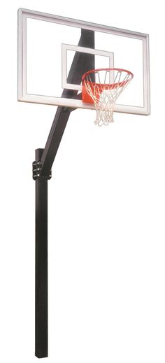 First Team Legend Jr Select In Ground Fixed Height Outdoor Basketball Hoop 60 inch Acrylic from NJ Swingsets