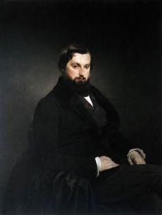 Portrait of Gian Giacomo Poldi Pezzoli - Francesco Hayez
