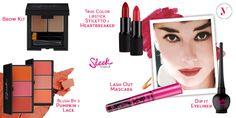 Ispirati alla bellezza senza tempo di Audrey Hepburn ed ai giusti prodotti #SleekMakeUP http://www.vanitylovers.com/brands/sleek-makeup.html?utm_source=pinterest.com&utm_medium=post&utm_content=vanity-sleek&utm_campaign=pin-vanity