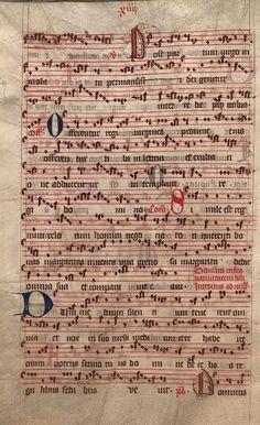 Moosburger Graduale um 1360 Moosburg Cim. 100 (= 2° Cod. ms. 156)  Folio 32