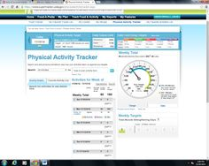 my physical activity for week 9