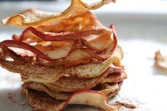 APPELCHIPS Houden jullie en jullie kleintjes ook zo van (ongezonde) chips? Wij hebben de oplossing, appelchips! Ga snel naar de website van beginspiration voor het recept: