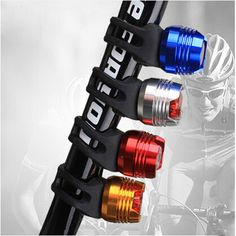 LED Waterproof Cycling Safety Caution Light Bike Bicycle Cycling Front Rear Tail Helmet Flash Light BP35-0002 Safety Caution Light