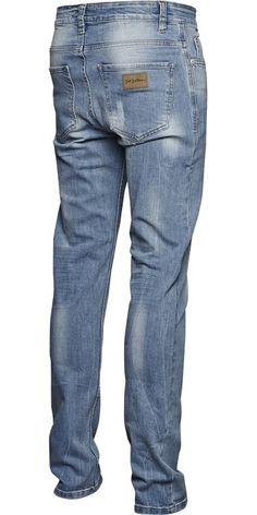 SICKO TRUE BLUE Jeans Denim fra Just Junkies