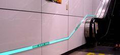 Subway Egress Light Tape®  http://www.lighttape.co.uk