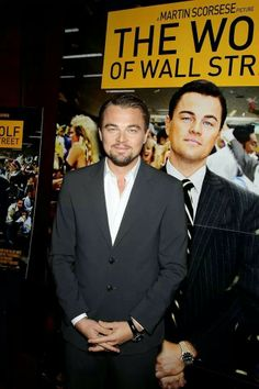 Leonardo DiCaprio Reveals He Turned Down 'Hocus Pocus' Role: Photo Leonardo DiCaprio suits up to attend a conversation and special screening celebrating his film The Wolf of Wall Street on Thursday (February at the Ziegfeld… Terence Winter, Wolf Of Wall Street, King Of The World, Poster Pictures, Martin Scorsese, New York Street, Leonardo Dicaprio, I Movie, Actors & Actresses