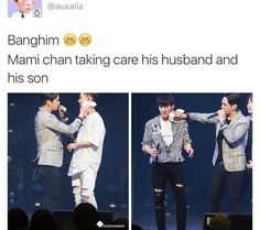 Aww, mommy Himchan is doing good~