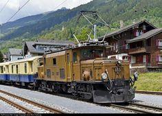 RailPictures.Net Photo: 415 RhB - Rhätische Bahn Ge 6/6 I at Trun, Graubünden, Switzerland by Jean-Marc Frybourg