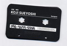 Business Cards : Cassette Cards