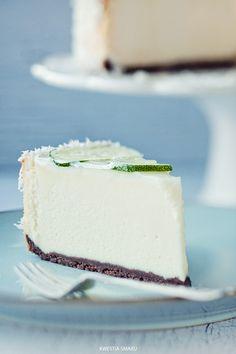 Coconut Cheesecake - Lime - Recipe