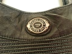 Authentic Diesel Woman's Handbag black by AtelierIslandArt on Etsy