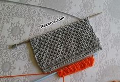 DEĞİŞKEN TEK RENKLİ ŞİŞ MOTİFİ | Nazarca.com Crochet Hats