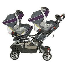 @Stephani Charlesworth Cheney - this also is able to take 2 infant seats. Baby Trend Sit N Stand Double Stroller in Elixer $170