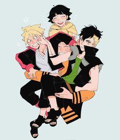 Kid Kakashi, Naruto Sasuke Sakura, Naruto Uzumaki Shippuden, Naruto Cute, Naruto Summoning, Boruto Characters, Fictional Characters, Anime Siblings, Funny Naruto Memes
