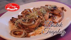 Pork Bistek Tagalog Pinoy Recipe : How to cook Pork Bistek Tagalog | Pin...