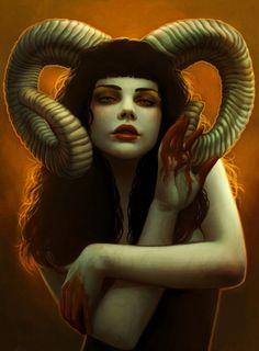 Devil by `DanielaUhlig on deviantART