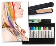 Hair Chalking. I tried this and it worked so well! i have brown redish hair and i was able to get bright colors easy and washed out in 1 shampoo! better than the kool-aid i tried and with kool-aid i only got red and i still got red in my hair and its bin over a month.