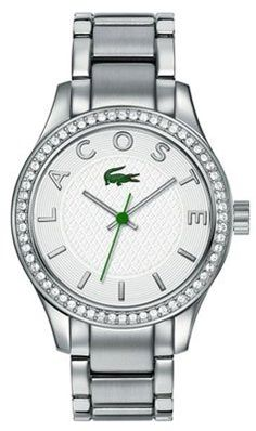 42c18f6b9 Lacoste Sydney Silver Dial Stainless Steel Ladies Watch 2000797 * Click  image for more details. Hodinky Michael KorsDámske ...