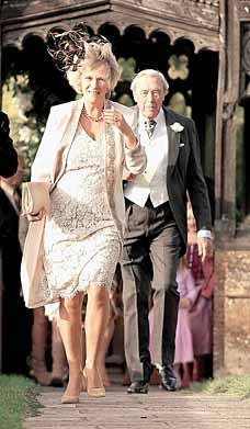 Camilla and her father, Major Shand...and just where is it we are MARCHING to????