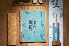 Nozomi Suhi Bar branding by Masquespacio, Valencia   Spain restaurant branding branding