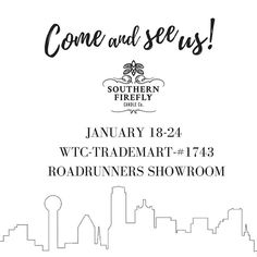 If you're in Dallas we would love for you to stop by! #shoplocal #shopsmall #handpoured #madeinnashville #southernfireflycandle #dallasmarketcenter