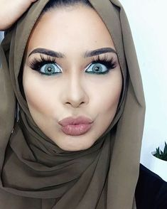 ANOTHER ONE! filmed my 3rd & final Eid glam look, to be up tomorrow inshAllah. If you know of any unique trad Arabic song covers or remixes let me know please ❤️ in the meantime, don't forget to watch my latest Eid makeup video on my channel & enter my international giveaway!   Hijab: @voilechic #mocha  Lashes: @demurelashes 'adore' use my code habibadasilva for a discount! #habibadasilva