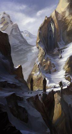 Ao passar a ponte, as montanhas já quase não tem neve, mas o vento gélido ainda é perigoso em alturas.