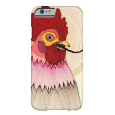 rooster barely there iPhone 6 case