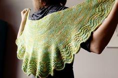 Slate Falls Press...sweet shawl pattern