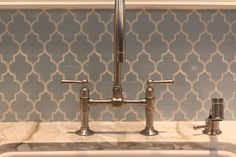 Backsplash love - I literally had a dream about these tiles last night (that's what you get for pinning before bed...)