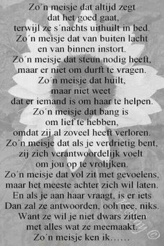 Family Quotes, Sad Quotes, Best Quotes, Life Quotes, Inspirational Quotes, Lessons Learned In Life, Life Lessons, Dutch Words, Dutch Quotes