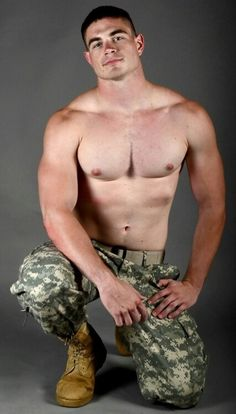 Uniformed gay on mission to cum