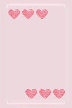 Flower Background Wallpaper, Framed Wallpaper, Pink Wallpaper Iphone, Heart Wallpaper, Tumblr Wallpaper, Wallpaper Backgrounds, Creative Instagram Stories, Instagram Blog, Instagram Story Ideas