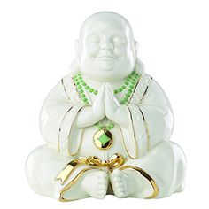 Exclusive Lenox Happy Praying Buddha Statue Figurine * Check out the image by visiting the link.
