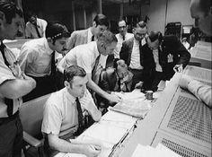 Apollo 13; Mission Control Center [Credit: JSC/NASA]