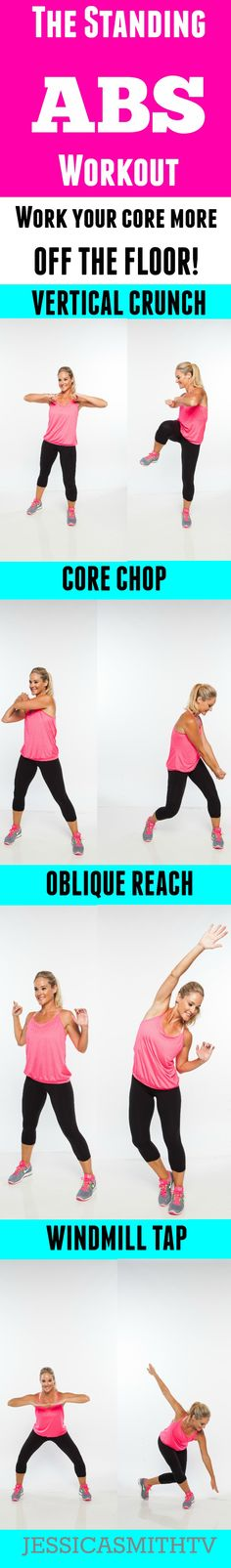 Forget crunches - these moves are much more effective!