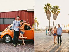 Sydney & Dave's Venice Beach Engagement • The Melideos