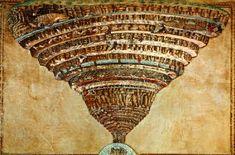 Map+of+Dante's+Inferno+Botticelli | Botticelli's Map Of Dante's Inferno Image | Botticelli's Map Of Dante ...