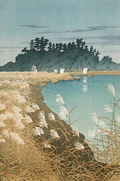 Ichikawa in Late Autumn Kawase Hasui (Japan, 1883-1957) Japan, 1930