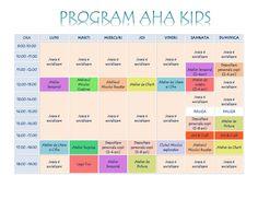 Program AHA Kids - luna August 2016