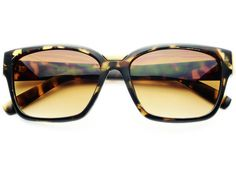 RETRO FASHION WAYFARER SUNGLASSES TORTOISE W054
