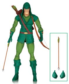 DC Comics Icons figurine Green Arrow (The Longbow Hunters) DC Collectibles