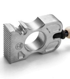 DB Customs Mr. Lump Single Knuck Bottle Opener EDC Keychain Aluminum - Blade HQ
