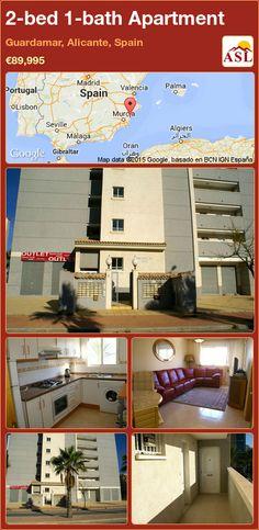 2-bed 1-bath Apartment in Guardamar, Alicante, Spain ►€89,995 #PropertyForSaleInSpain