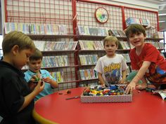 LEGO Club at the Estates Branch Library