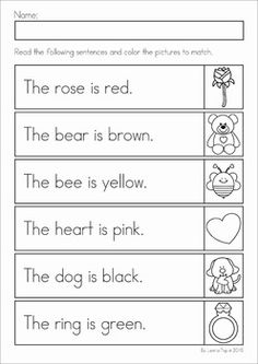 11  literacy worksheets | fast life atlanyc