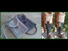 YÜRÜYÜŞ İÇİN KÜÇÜK ÖRGÜ ÇANTA YAPIMI-TEK PARÇA #örgüçanta #crochetbag #smallbag - YouTube Crochet Bag Tutorials, Crochet Handbags, Knitted Bags, Fitness Inspiration, Winter Hats, Crochet Hats, Youtube, Basket, Accessories