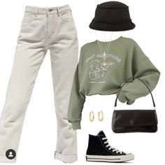comfy and cute outfits Cute Casual Outfits, Edgy Outfits, Swag Outfits, Retro Outfits, Grunge Outfits, Vintage Outfits, Summer Outfits, 90s Fashion Grunge, Teen Fashion Outfits