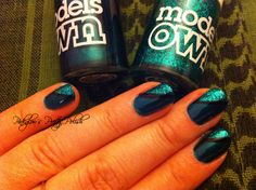 omg!! love the green <3 Models Own 'Swatched!'